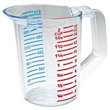 Rubbermaid Commercial Bouncer Measuring Cup, 16oz, Clear by Rubbermaid Commercial