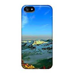 New Diy Design Snow Capped Mountans For Iphone 5/5s Cases Comfortable For Lovers And Friends For Christmas Gifts by ruishername