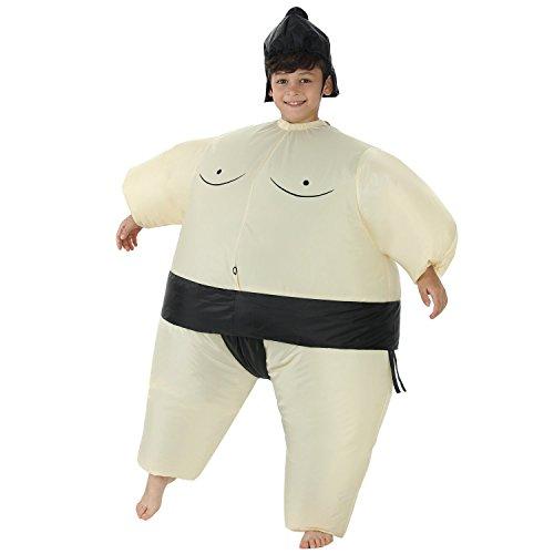 Amazon.com: Disfraz inflable de luchador de sumo, para ...