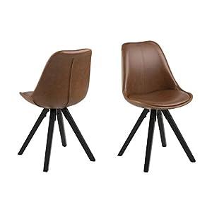 Brand - Movian Arendsee - Juego de 2 sillas