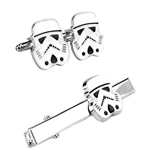 Star Wars STORM TROOPER HELMET Metal/Enamel TIE CLIP
