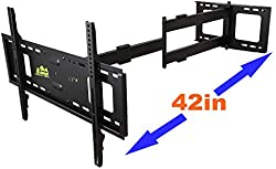 related image of FORGING MOUNT Long Arm TV Mount Full
