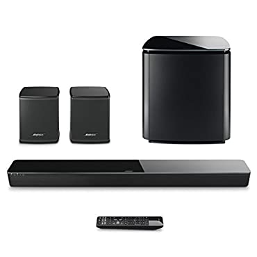 Bose SoundTouch 300 Soundbar w/ Wireless Acoustimass 300 Bass Module & Wireless Surround Speakers Bundle