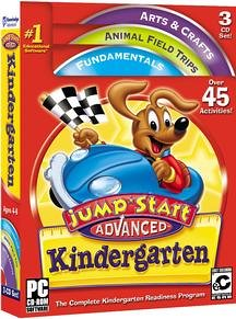 Jumpstart Advanced Kindergarten (PC & Mac) [OLD VERSION]