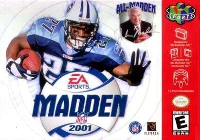Madden NFL 2001 (Pc Box Gladiator S)