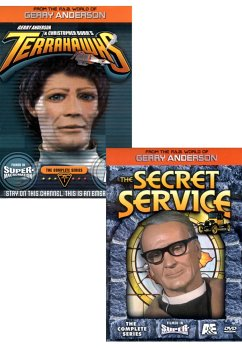 ( Gerry Anderson 2 Pack ) Terrahawks - The Complete Series / The Secret Service - The Complete Series