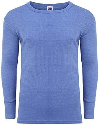 Camiseta térmica de manga larga para hombre, ropa interior cálida ...