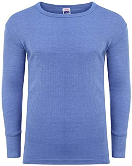 Camiseta térmica de manga larga para hombre, ropa interior cálida de algodón, calentador de esquí de invierno S M L XL XXL térmico: Amazon.es: Ropa y accesorios
