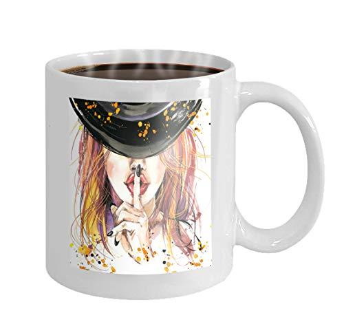11 oz Coffee Mug girl witches halloween party