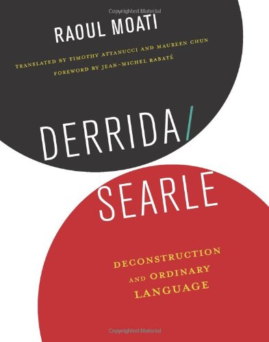 Derrida/Searle: Deconstruction and Ordinary Language ebook
