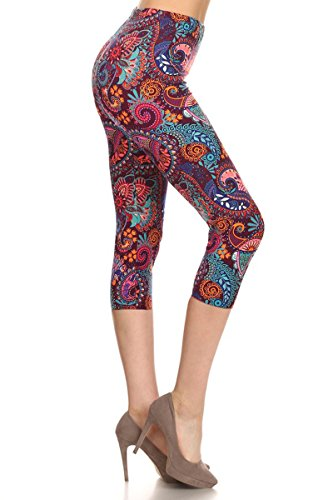 leggings-depot-womens-premium-quality-ultra-soft-printed-capri-cropped-fashion-leggings-plus-size-12
