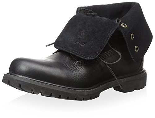 Timberland Authentics Roll-Top Black Black Womens Boots