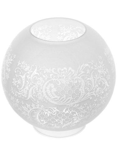 Satin Etched Glass Globe - 8
