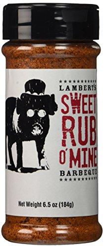 Sweet Rub - Lambert's Sweet Rub O' Mine Barbecue Seasoning - 6.5 Ounce
