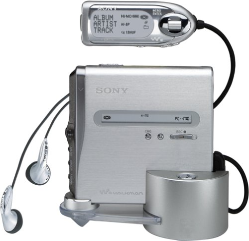 Sony MZ-NH1 Net MD/Hi-MD Walkman Portable Minidisc Player/Recorder