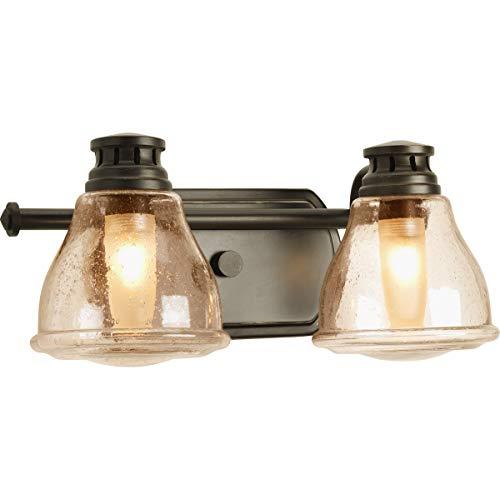 Progress Lighting P2811-20WB Two-Light Bath with Bulb