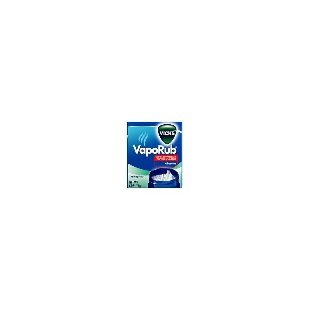 Vicks VapoRub- 6 oz jar