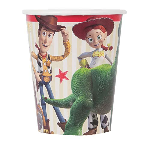 Unique Industries Disney Toy Story 4 Movie 9oz Paper Cups (8 Per Package) -