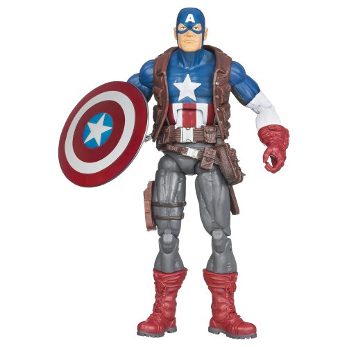 "MARVEL LEGENDS 2013 WAVE 1 ULTIMATE CAPTAIN AMERICA 6"" ACTION FIGURINE (HIT MONKEY SERIES)"