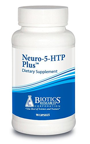 Biotics Research Neuro-5-HTP PlusTM- Neurological Support, Calm Brain Activity, Healthy Sleep Patterns, Overall Sense of Well-Being, Promotes Relaxation, Serotonin Precursor, L-Theanine. 90 Caps