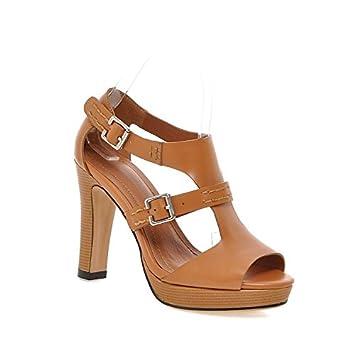 Women's Shoes Comfort Sandals Walking Shoes  Damen Sandalen  Sandalette Damen Sandalen  high-heeled dick mit...