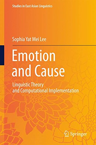 Emotion and Cause: Linguistic Theory and Computational Implementation
