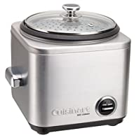 Cuisinart Rice Cooker 4-Cup Silver