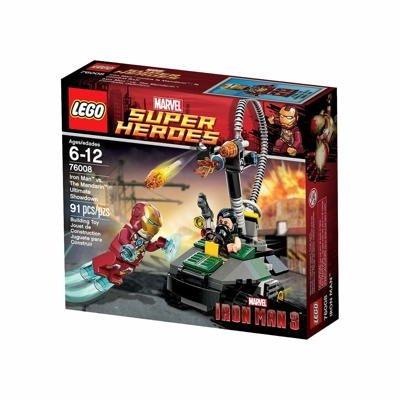 LEGO Super Heroes Iron Man vs. The Mandarin Play