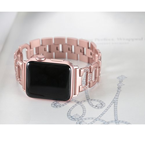 bling band wristbands for apple watch 38mm diamond