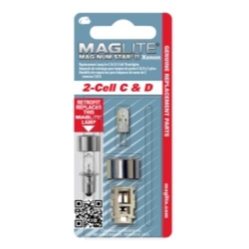 Maglite Lwsa201 2 Cellule Krypton ampoule Mgllwsa201 Mag Lite LMXA201