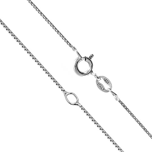 Sterling Silver 0 8mm Adjustable Chain
