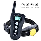 Pet Charm Dog Training Collar Remote Waterproof Dog Training E-Collar with Beep/Vibra/Electric Shock 330 Yards Range Adjustable for Small Medium Large Dogs For Sale