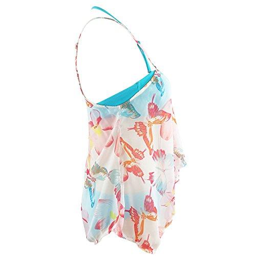 DORIC 2019 Women's Bikini Swimwear Switmsuit Bathing Suits Two Pieces Falbala Dress by DORIC (Image #3)