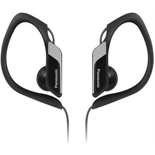 Panasonic RP-HS34-K Earphone Black Stereo - Mini-phone - Wired - 23 Ohm - 10 Hz 25 kHz - Nickel Plated - Over-the-ear, Earbud - Binaural - Outer-ear - 3.94 ft Cable