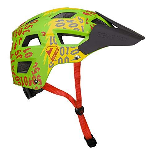 7iDP M5 Helmet 50:01 Rasta S/M