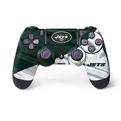 - Skinit New York Jets PS4 Controller Skin - Officially Licensed NFL PS4 Decal - Ultra Thin, Lightweight Vinyl Decal Protective Wrap