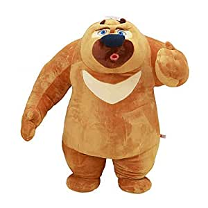 Boonie Bears Stuffed Toy Lovely Bear Junior Plush Toy Birthday Gift for Unisex