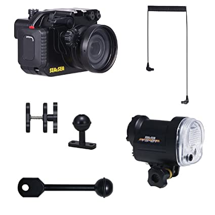 Amazon.com: Sea & Sea MDX-RX100II - Carcasa submarina y ...