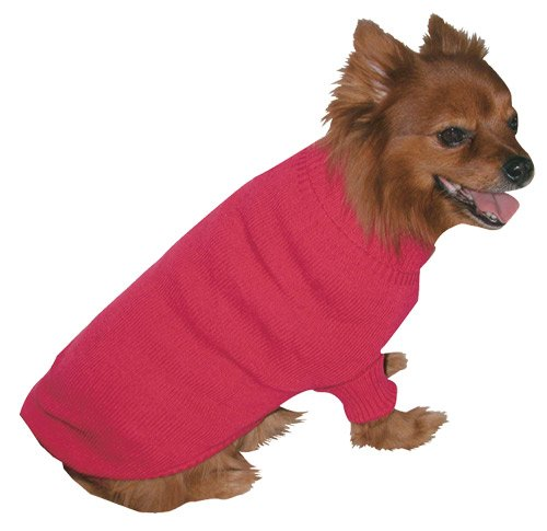 Vo-Toys Doggie Duds Traditional Sweater Fuchsia, Small
