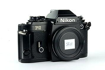 amazon com nikon fg 35mm film slr camera black body camera photo rh amazon com Medium Format Nikon FG 20 Battery for Nikon FG