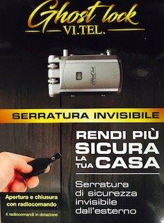 Tel. e0584 51 Cerradura Invisible Ai ladrones con 4 mandos a distancia,