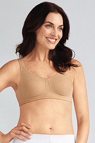 Amoena Women's Mona Molded Wire-Free Bra, Cognac, (Amoena Mastectomy Wear)