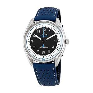 Omega Seamaster 522.32.40.20.01.001 Reloj de Pulsera olímpico de Cuero Azul para Hombre, edición Limitada 7