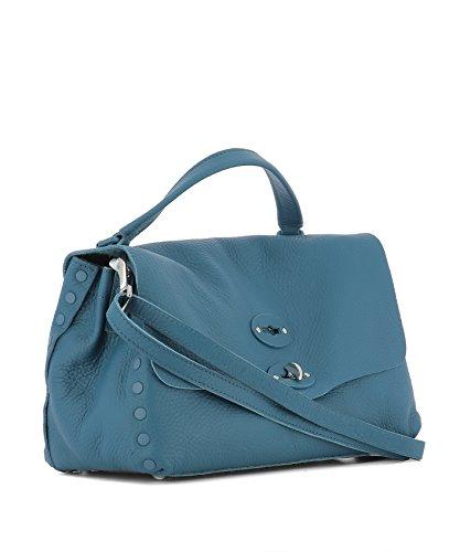 Zanellato Borsa A Mano Donna 6138P688 Pelle Azzurro