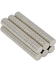 SBS® Neodymium Magente | Ø 6 x 2 mm | 20 stuks | Supermagneten met extreme hechtkracht | schijfmagneet | magneetschijf