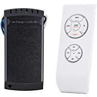Tim-dsta Universal Ceiling Fan Lamp Remote Controller Kit & Timing Wireless Remote Control Fit 99% Ceiling Fan Lamp, Scope of Application [Home/Restaurant/Office/Hotel/The Club/Display Hall/Garage]