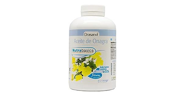 Drasanvi - Aceite de Onagra - 450 Perlas: Amazon.es: Salud y cuidado personal