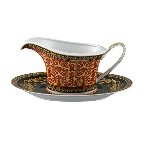 Versace meets Rosenthal Ikarus Medusa Sauce boat with saucer