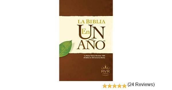 La Biblia en un Ano-Rvr 1960: Amazon.es: Tyndale: Libros