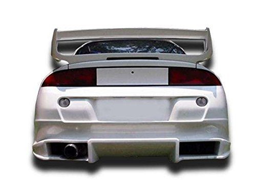 KBD Body Kits Compatible with Mitsubishi Eclipse/Eagle Talon 1995-1999 Bomb Style 1 Piece Flexfit Polyurethane Rear Bumper. Extremely Durable, Easy Installation, Guaranteed Fitment, Made in the USA!